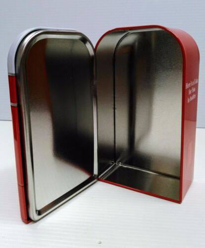 BRAND NEW Coca-Cola Vending Machine Tin Bank
