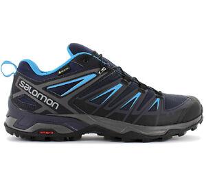 Detalles acerca de Salomon X Ultra 3 Gtx Gore-Tex Hombre Senderismo Zapatos  402423 Azul Zapatos De Senderismo- mostrar título original
