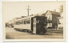 WEST PENN Trolley at KITTANNING PA Pennsylvnia Streetcar Photograph