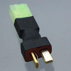 Deans Type Wireless Tamiya Female Connector to female T-Plug Adapter