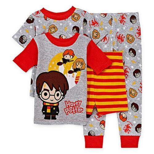 Harry Potter Toddler Boys 4pc Snug Fit Pajama Set Size 2T 3T 4T