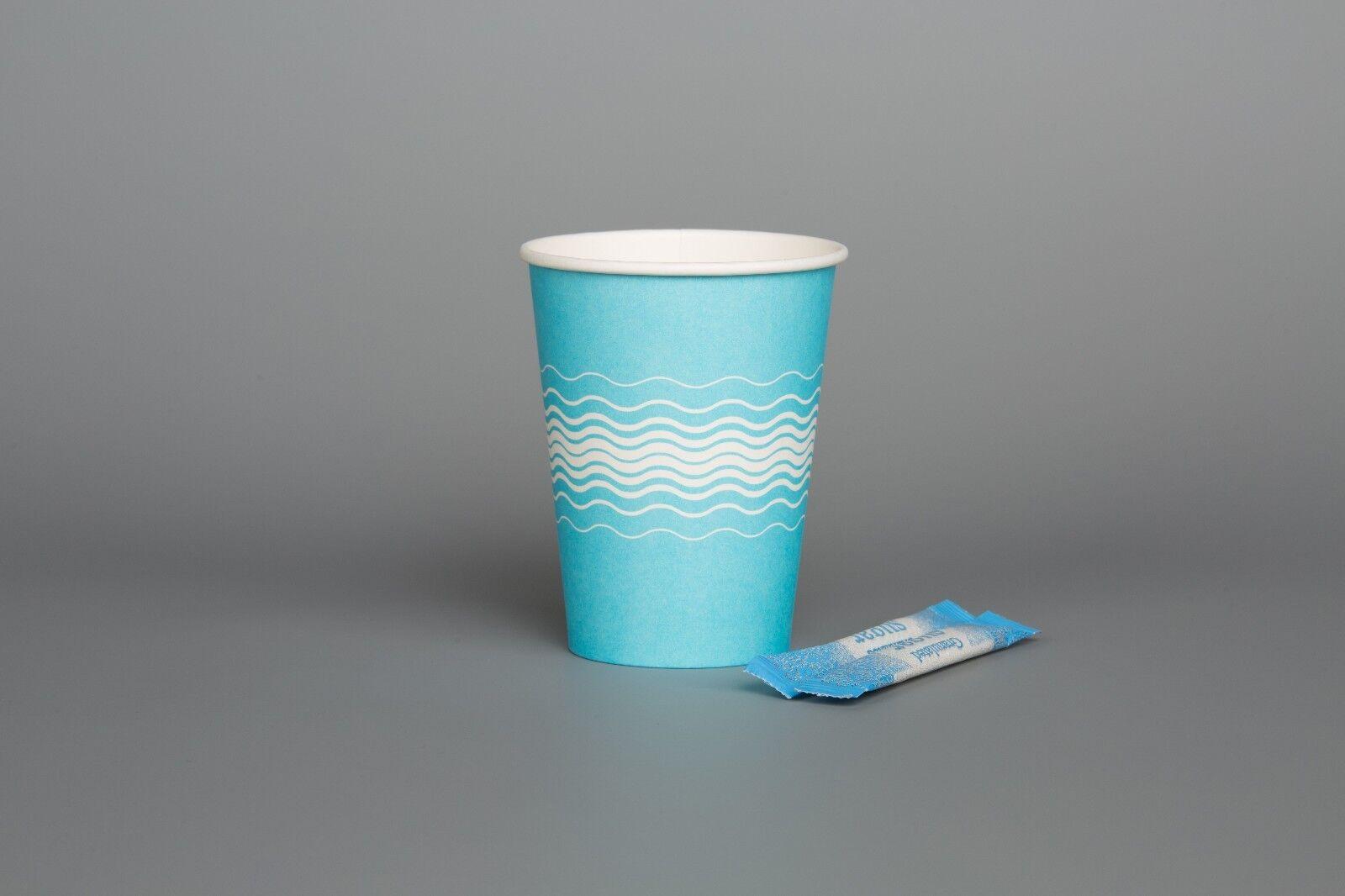 Jetable Fête Baby Bleu Paper Cups Cups Cups événements Anniversaire Baptême Catering 76a39a