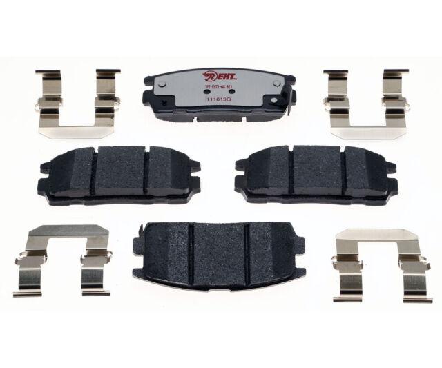 Disc Brake Pad Set-Element3; Hybrid Technology Rear Raybestos EHT1275H