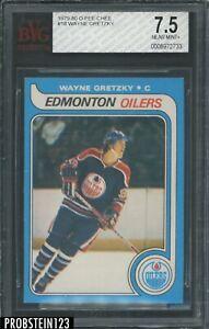 1979-80 O-Pee-Chee OPC Hockey #18 Wayne Gretzky RC Rookie HOF BVG 7.5