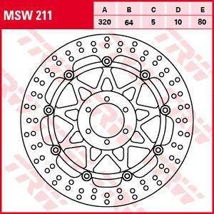disque-frein-flottant-avant-TRW-LUCAS-MSW-211-YAMAHA-125-TDR-1200-1300-XJR