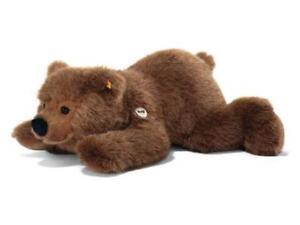 Steiff Teddy Urs Ours Brun 45cm Allongé