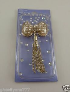 for-Iphone-5-phone-case-bling-faux-pearl-bow-3d-white-faux-pearl-amp-crystal