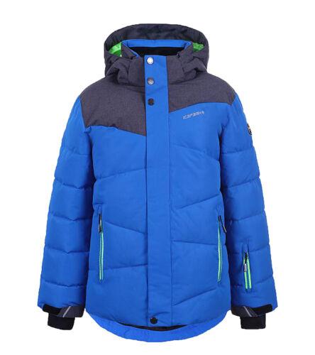 ICEPEAK Helios Kinder Outdoor-Jacke Ski-Jacke mit Icetech und Soft Touch Blau
