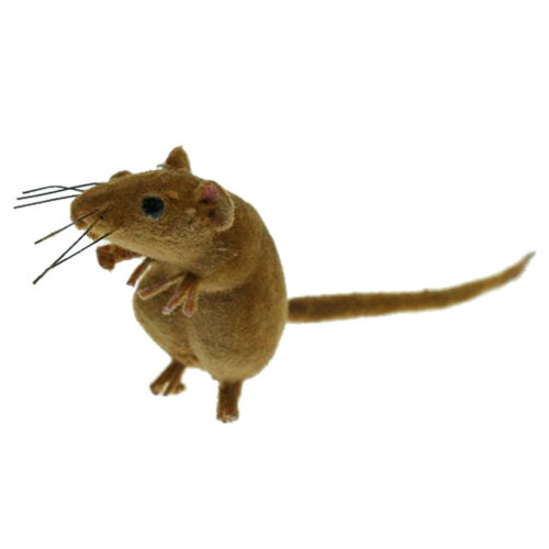 6 pcs Lebensechte Maus aus Lehm Kinder Spielzeug Spaß machen