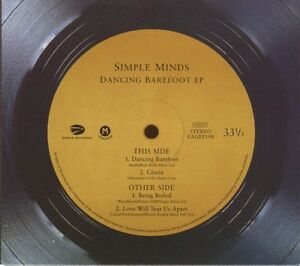 Simple-Minds-CD-Dancing-Barefoot-EP-Limited-Edition-Germany-M-M