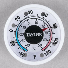 Taylor 5380N Indoor/Outdoor Stick-On Dial Thermometer