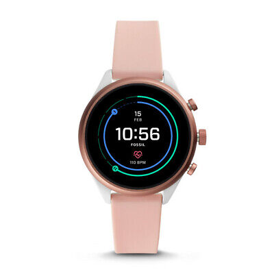 Fossil FTW6022 Womens Fossil Sport Smartwatch - 41mm Blush Silicone  41 MM