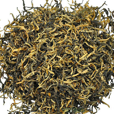 SPECIAL High Mountain Organic Premium Dian Hong Black Tea One Bud One Leaf 250g