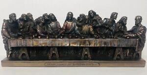 New Studio Collection Veronese Designs The Last Supper Bronze Figurine Statue Ebay