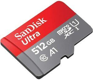SANDISK-Ultra-Micro-SD-Scheda-Di-Memoria-16gb-32gb-64gb-128gb-256gb-512gb-100mb-s-a1