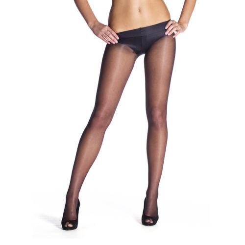Womens gorgeous low waist sheer tights Roxy 20 Denier T-Band Hosiery by Lady K