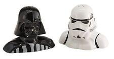 Vandor 54017 Star Wars Darth Vader and Stormtrooper Salt and Pepper Shakers, ...