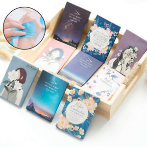 50PCS-Sheets-Make-Up-Oil-Absorbing-Blotting-Facial-Cleaning-Paper-Beautiful-ME