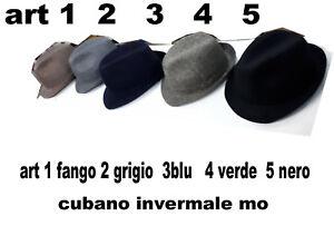 Caricamento dell immagine in corso cappello-cubano-lana-vari-colori- cerimonia-hat-man- be5797cbaa19