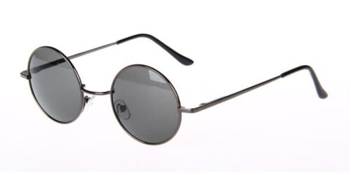 Vintage Round Sunglasses Full Rim Outdoor Glasses Rx able Anti UV400