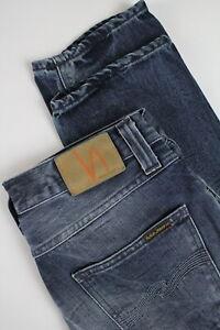 NUDIE-JEANS-STEADY-EDDIE-ORG-DEEP-TWILL-Men-s-W31-L34-100-Organic-Jeans-0910