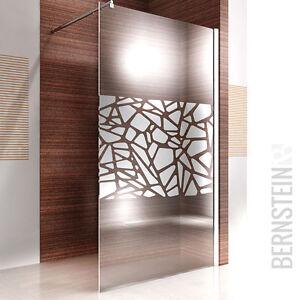 Duschabtrennung glas walk in  Duschabtrennung Walk In Duschwand NANO 10mm Glas Echtglas EX101 ...