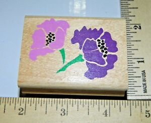 Perfect-Peonies-Flower-Rubber-Stampede-Posh-Impressions-Wood-amp-Foam-Rubber-Stamp