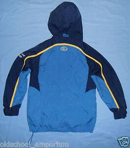 Leeds Rhinos / ISC - vintage JUNIOR collar-up / hooded Top / Jacket. Size: 10 - Poland, Polska - Leeds Rhinos / ISC - vintage JUNIOR collar-up / hooded Top / Jacket. Size: 10 - Poland, Polska