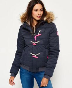 Navy New Jacket Puffle Marl Toggle Superdry Womens rqwOYq8vF