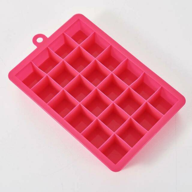 Silicone Square 15-Cavity Large Ice Cube Tray Maker Mold Mould Tray Jelly Tool T