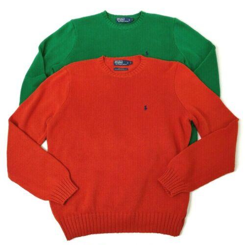Pullover XL Banana Republic Cotton Cashmere Sweater Crew Neck Navy Blue Orange Vintage Clothing