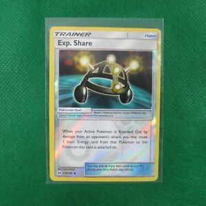 SHARE EXP 118//149 POKEMON SUN /& MOON CARD