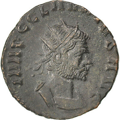 #65356 50-53 Antoninianus Billon Frugal 2.70 Pretty And Colorful Au Cohen #21 Claudius