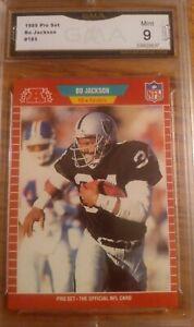1989-Pro-Set-Bo-Jackson-Los-Angeles-Raiders-185-Football-Card