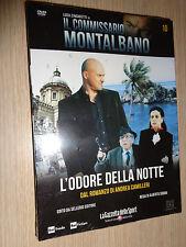 DVD N° 10 COMMISSARIO MONTALBANO LUCA ZINGARETTI CAMILLERI L'ODORE DELLA NOTTE
