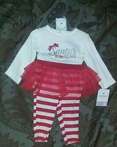 b3fc7968e181 Carter  039 s 6 Month Baby Girl   034 Santa  039 s Little Helper  ...