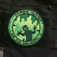 Zombie Hunter Tactical: Aim For The Head Nv Patch W/velcro Walking Amc