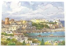 PostCard Of Italy-4,1/2x6,3/4inch-Ischia-printed On Pounded Paper.-MadeInItaly