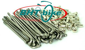 36-SPOKES-NIPPLES-LONG-130mm-2-1mm-FOR-E-BIKE-RAYON-ET-VIS-POUR-E-BIKE
