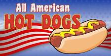 Hot Dogs Concession Hot Dog Cart Fast Food Decal 14