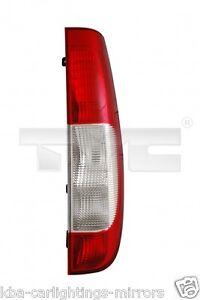 Mercedes Vito W639 Van 2003-2010 Rear Back Tail Light Lamp Passenger Side N//S