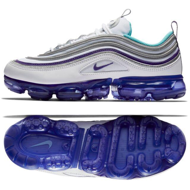 eaa4bf3724cac Nike Air Vapormax 97 Size 12 Grape White Aqua Varsity Purple Shoe ...