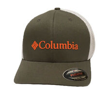 d19a23c027fbb Columbia Mesh Gray White Rugged Outdoor Ball Cap Hat Size - S   M ...