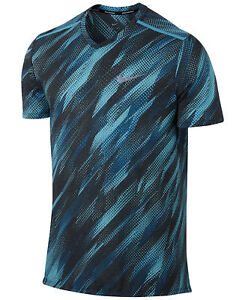 55-Men-039-s-Nike-Breathe-Printed-Running-Top-Size-Large-Style-833138-432