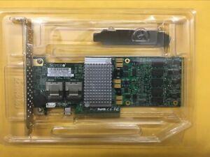 Supermicro-AOC-SAS2LP-H8IR-LSI-9260-8i-SAS-RAID-Controller-PCIe-Card-US