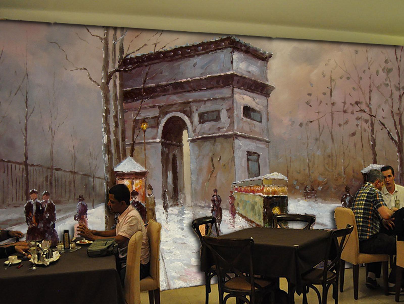 Papel Pintado Mural Mural Mural De Vellón Puerta De La Torre Vieja 2 Paisaje Fondo Pantalla 968bdf