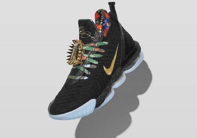 Nike LeBron 16 XVI Watch the Throne Size 11.5. CI1518-001 ...