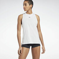 Reebok United By Fitness Perforated Women's Tank Top (XS/S/M/L/XL) (White)