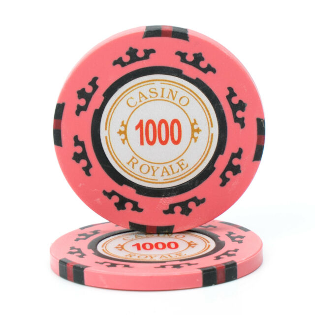 Poker Chips Purple Ace Jack 11.5 g Clay Composite 25