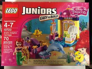 Lego-10723-Juniors-Ariel-039-s-Dolphin-Carriage-Disney-Little-Mermaid-70-pcs-RETIRED